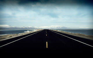 Island Road HD Wallpaper