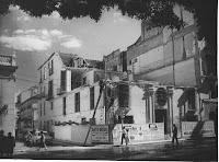edificio histórico demolido para construir la iglesia Stella Maris en la Alameda de Málaga