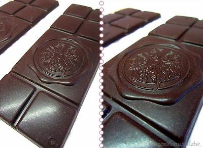 selbstgemachte Schokolade Zartbitter