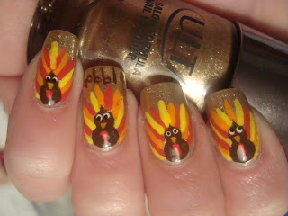 Poshthesocialite 10 awesome thanksgiving nails to rock photos whether you do it yourself diy or go to your favorite nail technician we will love to see your holiday nails tag us on twitter or instagram for a solutioingenieria Images