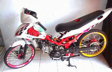 Foto Modifikasi Motor Jupiter Mx 135