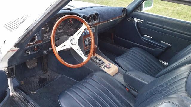 r107 450 sl amg interior