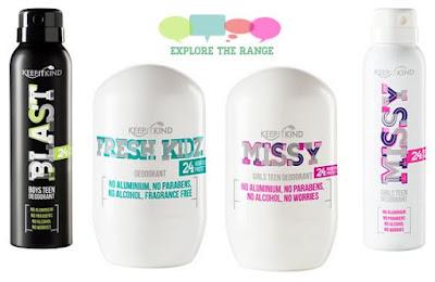 Natural Deodorant for Kids