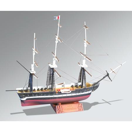 Plastic sailing ship kits