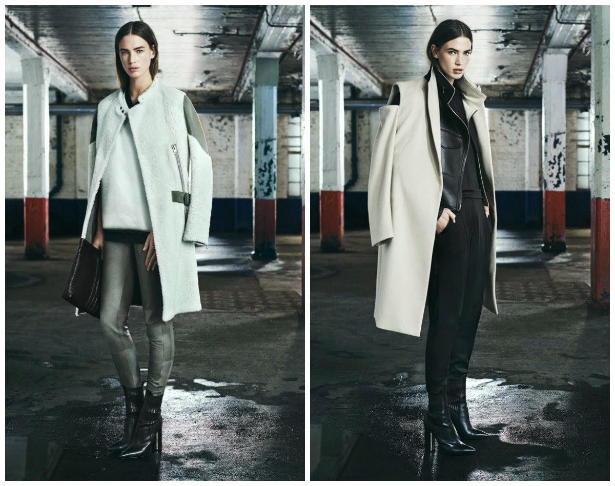 Подборка стильных пальто осень-зима 2014-2015 года. Подиум