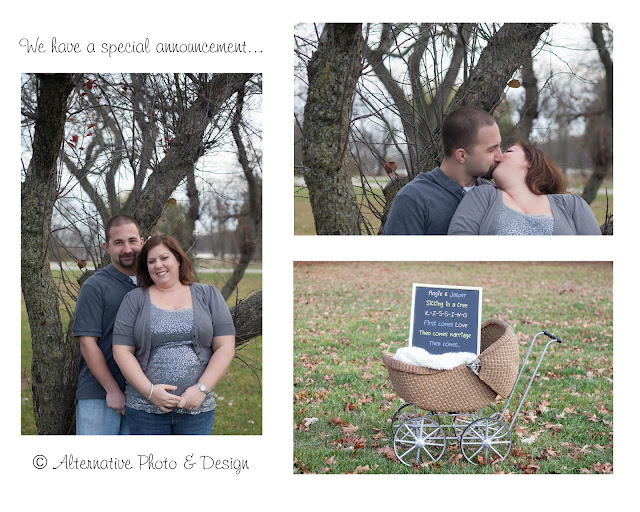 Maternity Reveal | Maternity Photography Janesville, WI