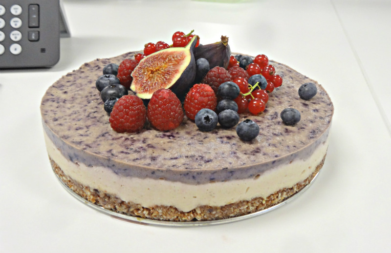 Delicious_Palea_Vegan_cheesecake perfect layers