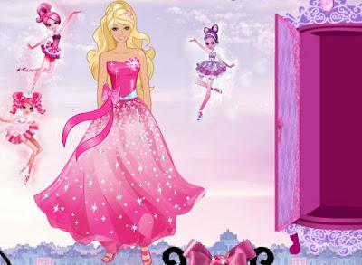 Juego de coser vestidos de barbie