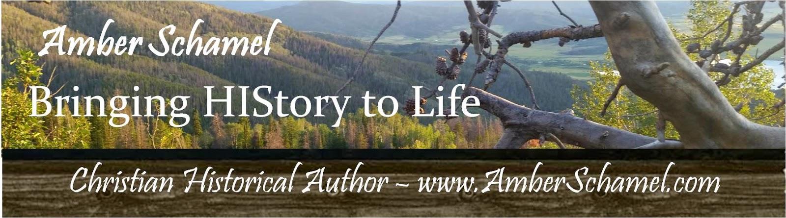 Blogger: Amber Schamel Bringing HIStory to Life
