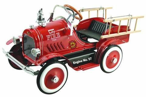 Fire Truck Ride-on Toys