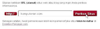 Analisis Web Penjejak.com