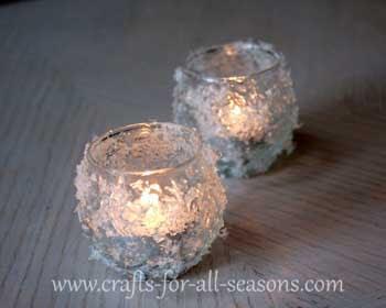 Luci natalizie con riciclo bicchieri