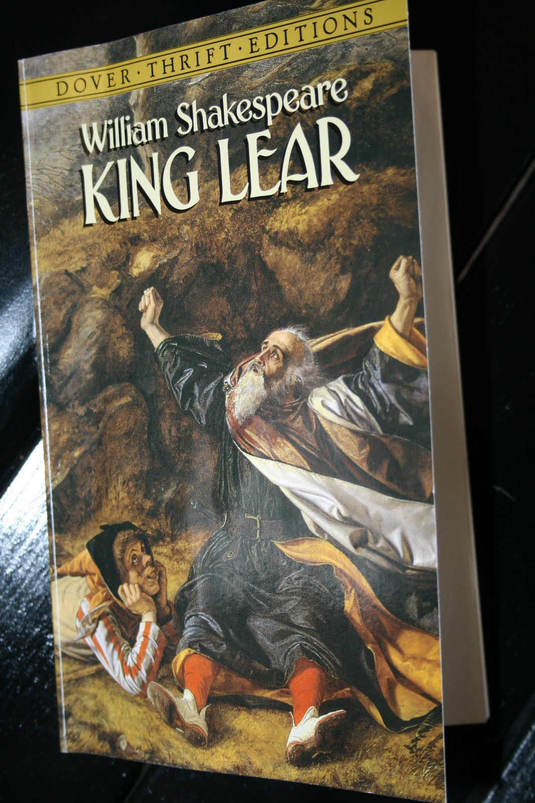 an analysis of the blindness in king lear by william shakespeare King lear study guide contains a biography of william shakespeare, literature essays, a complete e-text, quiz questions, major themes, characters, and a full summary and analysis study guides q & a.