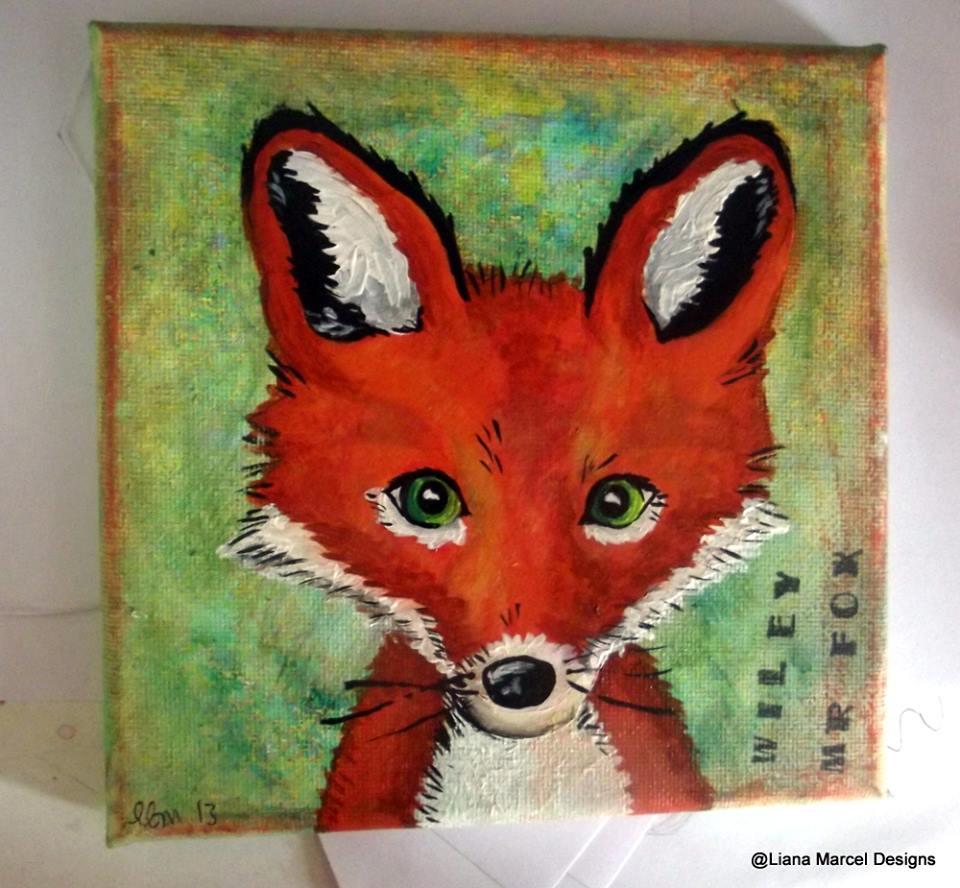 Wiley fox canvas