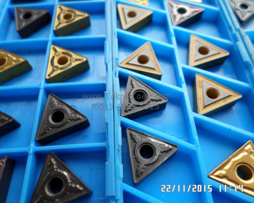 Insert Bubut TNMG 160404/08/12 | Pisau Bubut | Chip Bubut | Insert Carbide Baru | TNMG Insert Segitiga