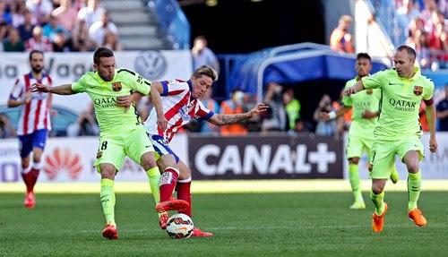 Gallery Pictures Atletico Madrid vs Barcelona 0-1 Liga BBVA Jornada 37