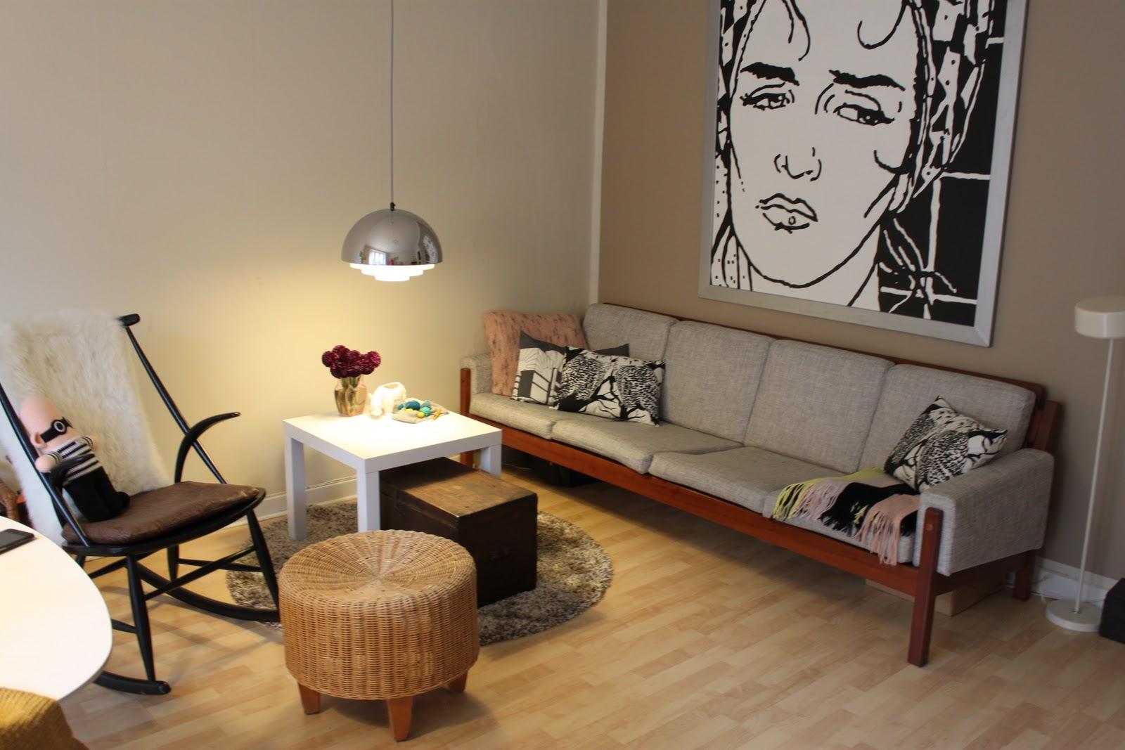 Frøkenen & baronen: min nye stue
