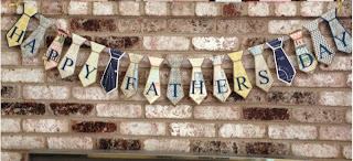 Tie Banner Fathers Day MidnightCrafting