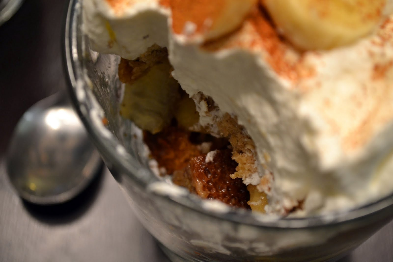 Just Putzing Around the Kitchen: Bananas Foster Trifle