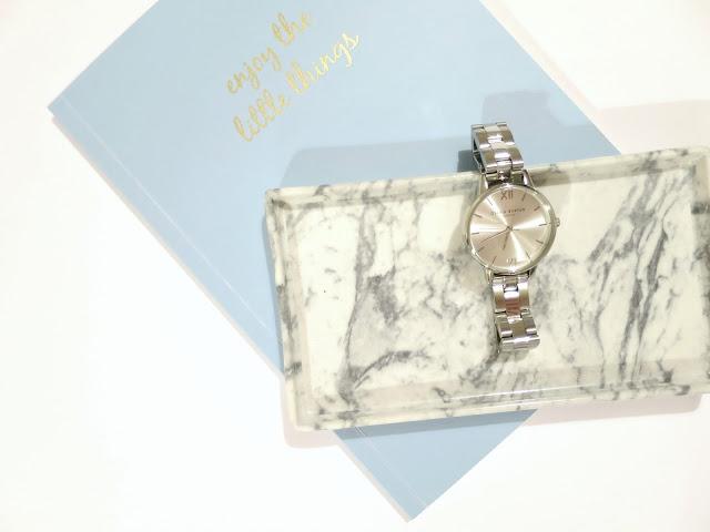 Olivia Burton Silver Midi Dial Bracelet Watch Jewellery