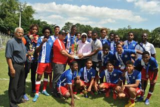 San Cristóbal, campeón torneo Nacional de Fútbol Masculino