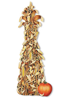 Jointed Cornstalk Cutout - Thanksgiving Decorations