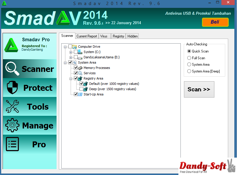 Smadav Pro 2014 Rev 9.6 Full Version
