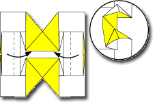 Cara Membuat Origami Kupu Kupu 1