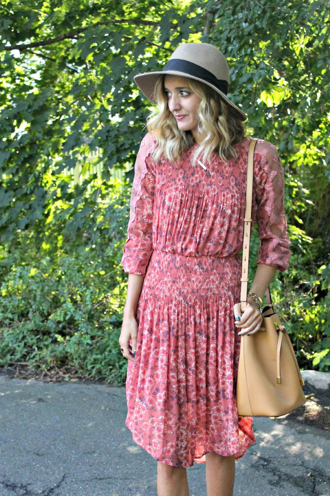 free people floral boho dress