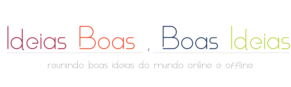 Blog Ideias Boas, Boas Ideias