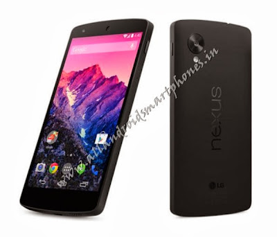 LG Nexus 5 Android 4G Phablet Black Front Back Images Photos Review