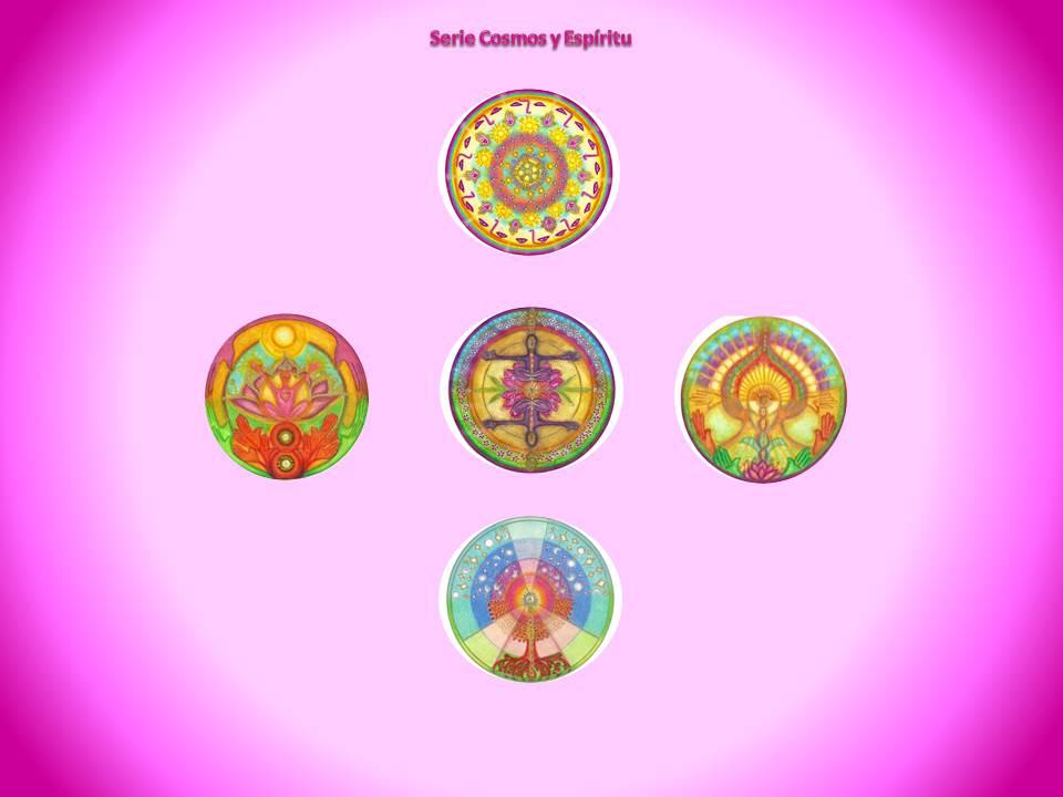 Serie Cosmos y Espíritu ... siempre nacen nuevos mandalas