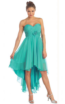 Short Sweetheart Empire Lace-up Chiffon Bridesmaid Dresses