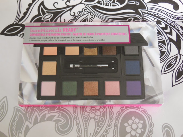 Bare Minerals Ready Convertible eye shadow palette