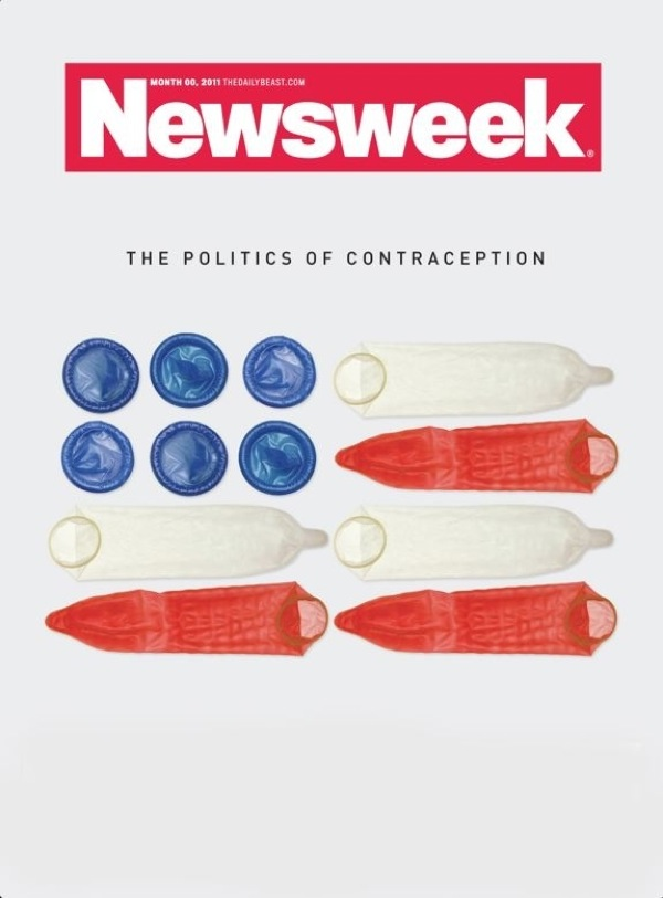 Newsweek. The politics of sex. Rejected