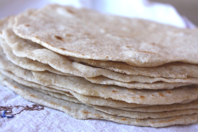 Whole Wheat Tortillas recipe by Barefeet In The Kitchen