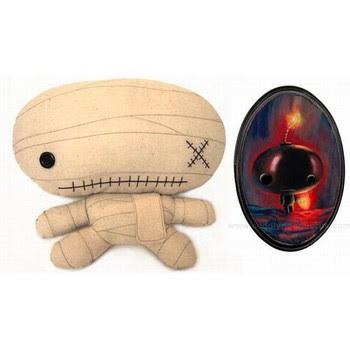 Muñeca de tela de terror