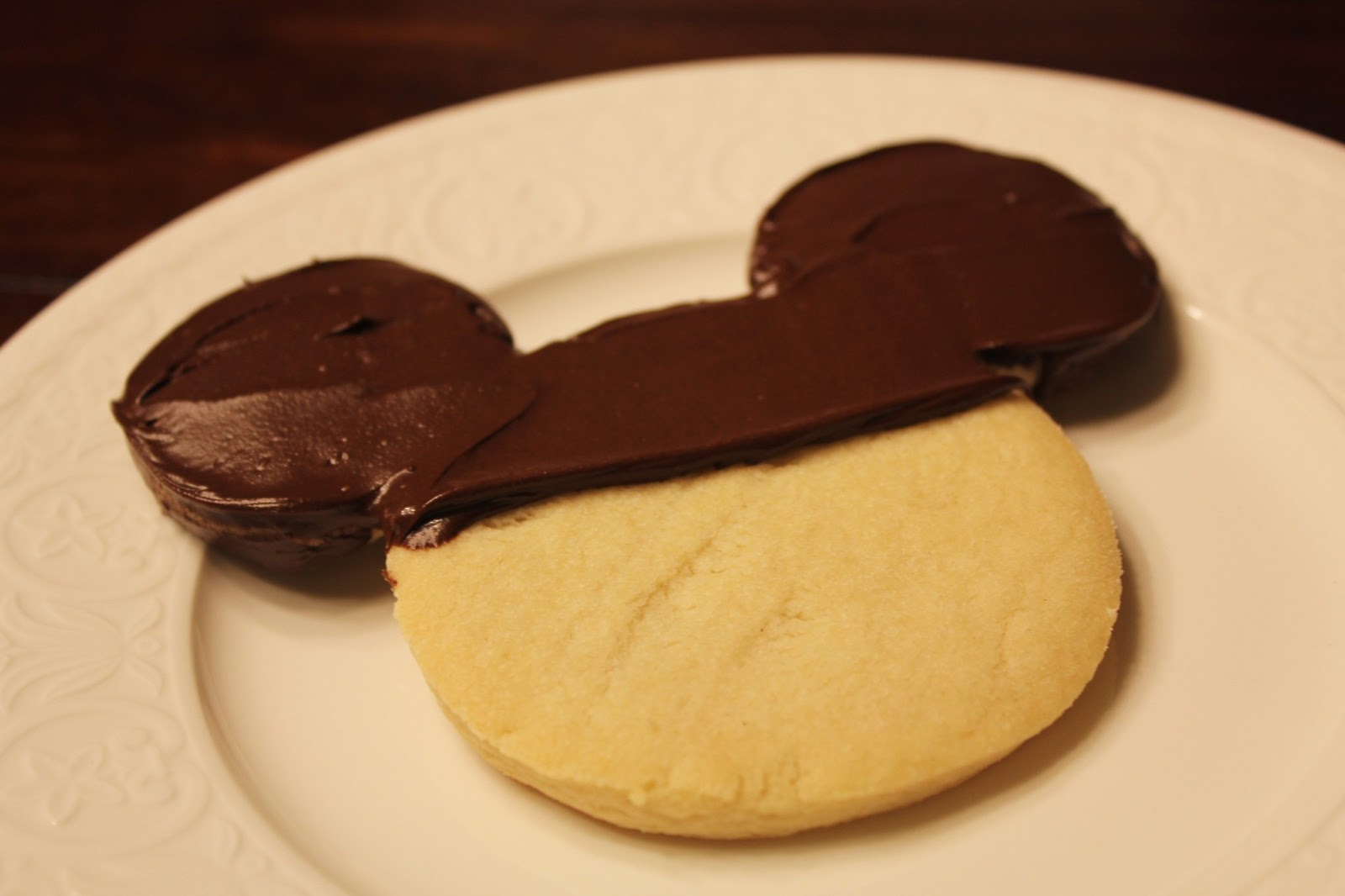 ... Disney at Home: Disneyland's Chocolate Dipped Shortbread Cookie Recipe