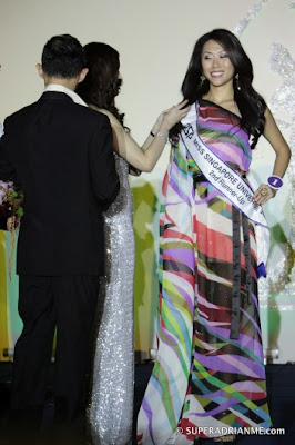 Singapore Celebrity Picture on While 24 Year Old Pr Executive Shn Juay Came In As 2nd Runner Up As