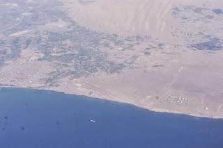 La costa del Perù a sud di Lima