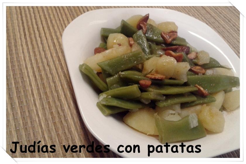 Las cosas de maku judias verdes con patatas - Calorias de las judias verdes ...