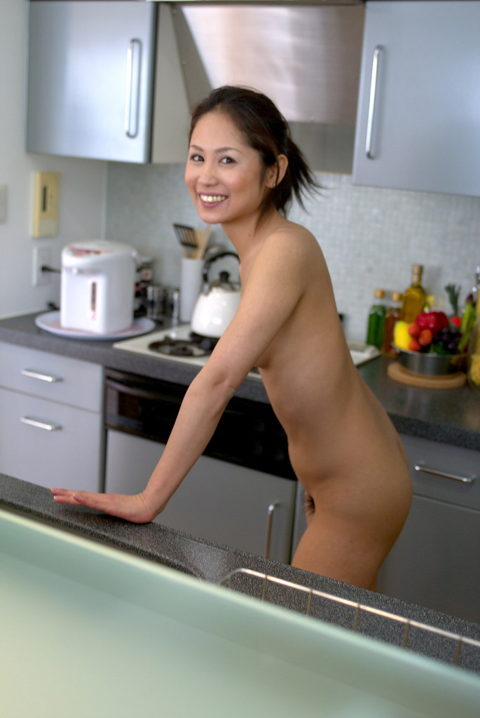 www.CelebTiger.com+Smiling+Asian+babe+Yuka+A+poses+nude+in+the+kitchen06 Asian MetArt Model Yuka A Poses Nude In Her Kitchen And Shows Us Her Round Booty Photo Gallery