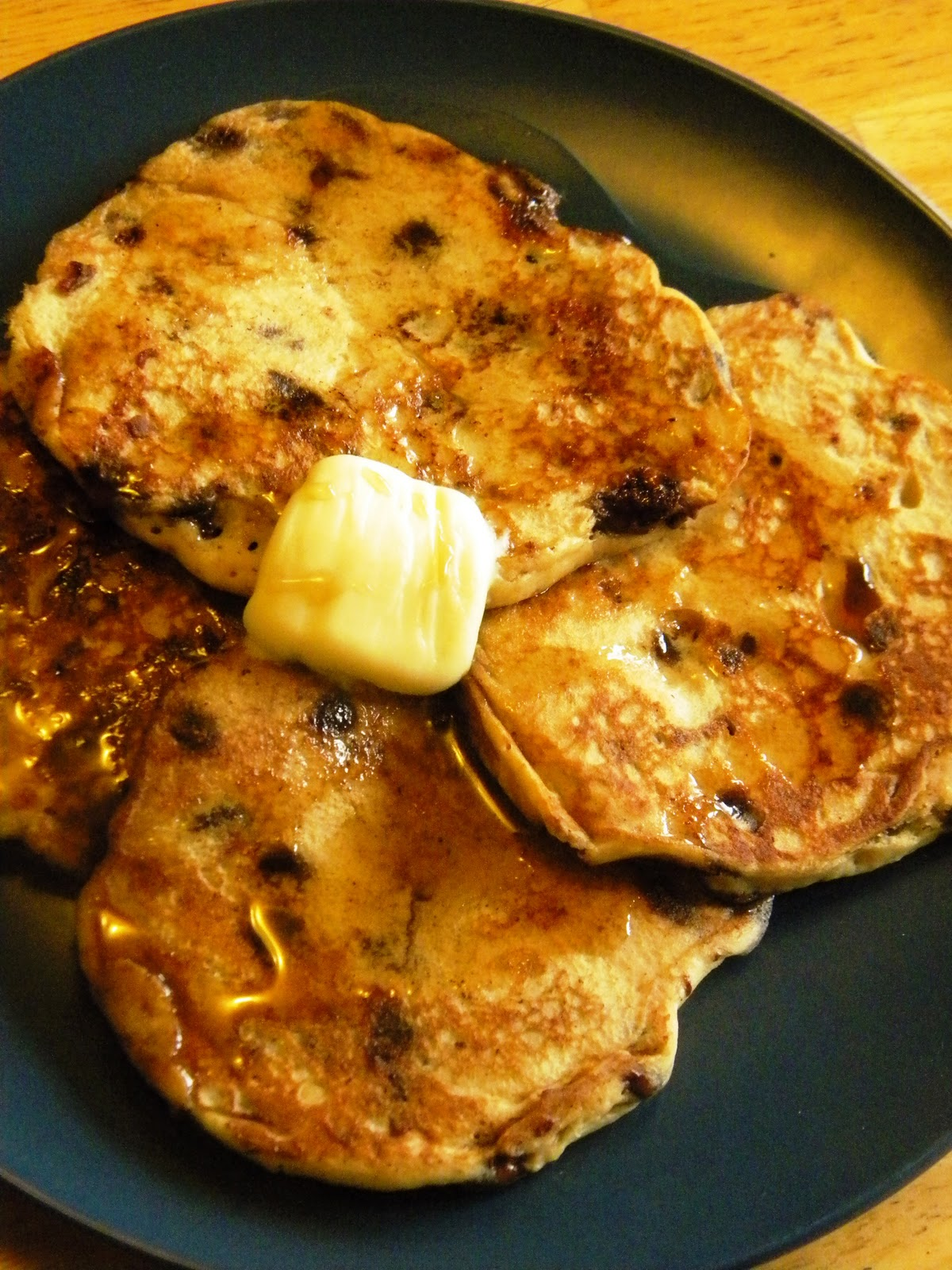... Crocker Project : Vegan Whole Wheat Banana & Chocolate Chip Pancakes