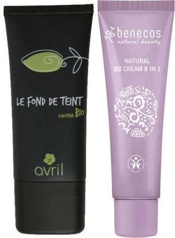Avril - Le Fond de Teint e Benecos BB Cream