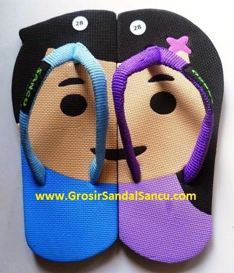 Sandal Sancu, Sandal Lucu, Grosir Sandal