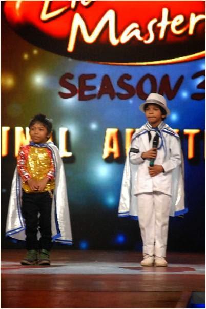 Monak and Divyansh in DID Li'l Masters Season 3 final auditions