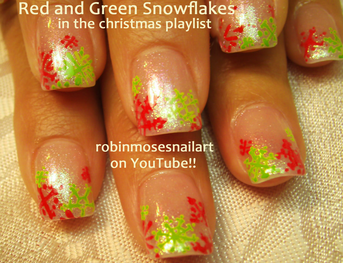 robin moses nail art nail art cute christmas nails