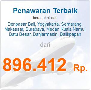 Tiket Pesawat Murah Ke Jakarta