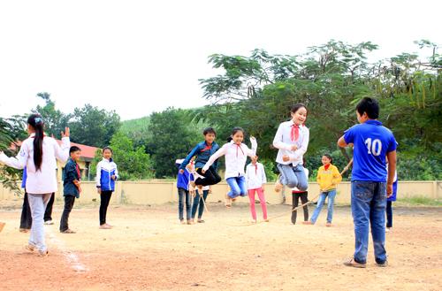 Gia Lai: Trò chơi của trẻ nông thôn