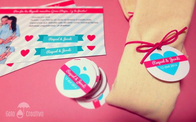 detalles para boda Gota Creativa